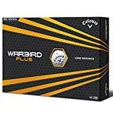 Callaway - Balles de golf Warbird Plus 2016 - Blanc (lot de 12)