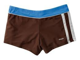 Beco maillot de bain pour homme-un classique Multicolore - Marron/bleu