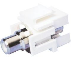 CHANNEL VISION 10-J-IRCA-I Ivory Rca Connector Jack