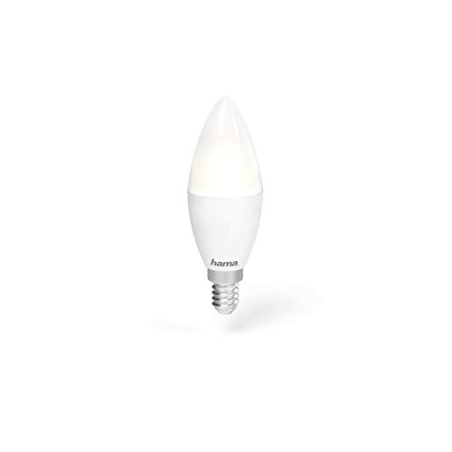 WiFi-LED-Lampe, E14, 4,5W, RGB, dimmbar
