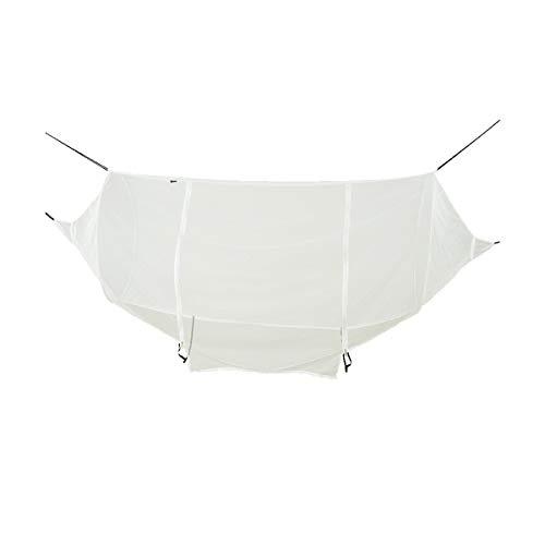 8haowenju Couverture de Filet pour hamac extérieur, hamac extérieur, Universel, portatif et Ultra-léger, Anti-moustiques (Color : White)