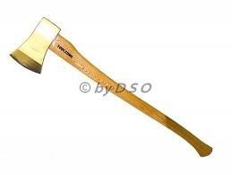 Professional 4Lb Extra Strong Wooden Handle Axe