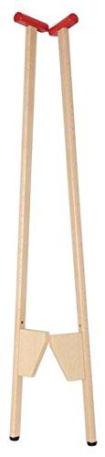 Weiss Natur Pur Stelzen für Kinder aus Holz, 1 Paar