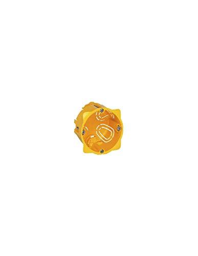 Legrand 080053 dreifach Unterputzdose / Hohlwanddose  BATIBOX HW-DOSE 3-F T=50MM, Orange
