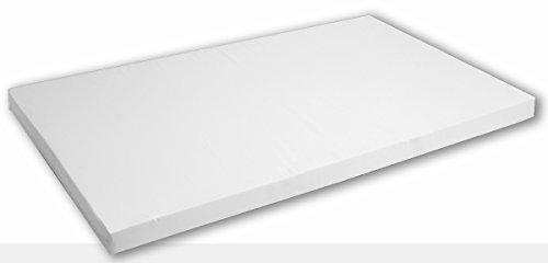 Best For You-Comfort Easy Colchón muchos tamaños a elegir de 60x 120x 14cm a 200x 200x 14cm de espuma TÜV, ideal para camas de invitados y como Cuna colchón con cremallera y TÜV-Puntas Precio/Potencia