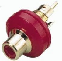 Monacor t-706gi/RT RCA rot-Anschluss (rot) -