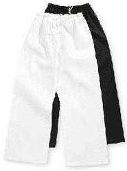 Schwarz Gürtel Master Student Elastic Taille Martial Arts, Karate, Taekwondo Deluxe Poly/Baumwolle Hose Größe 8weiß von Master