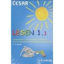 CESAR Lernspiele - Lesen 1.1 Klasse 2-4
