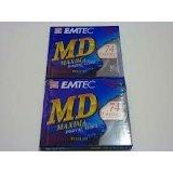 BASF MD74Maxima Digital Audio beschreibbare Minidiscs (Mini Disc) 5x 74min-5Stück