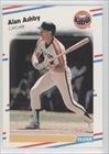 1988 Fleer # 439 Alan Ashby Houston Astros Baseball Card
