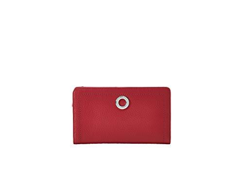 10e30d98099 Lamarthe - Compagnon zippé Paris (Rouge) - 100% Cuir grainé de Vachette  Pleine