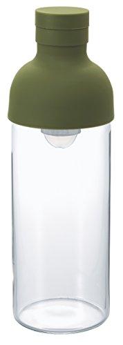Hario VD Kalten Brew Filter in Flasche, Olive Grün, 300ml - Tea Tree Minze Lassen