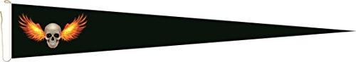 Haute Qualité pour U24 Long Fanion Feu ailes Drapeau Pirate 250 x 40 cm
