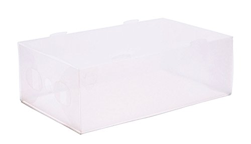 home-zone-10-pack-of-ladies-clear-shoe-storage-boxes-with-slide-in-out-drawer