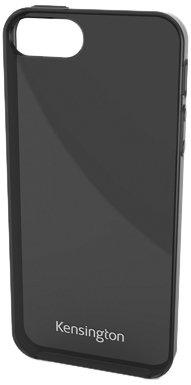 Kensington Gel Etui pour iPhone 5 Blanc Translucide Gris
