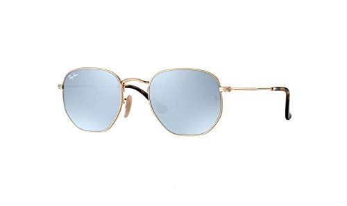 Ray-Ban Unisex 0RB3548 Hexagonal Flat Lenses 51mm Gold a971f3fa1939