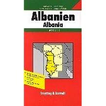 Carte routière : Albanien