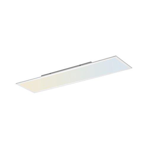 LED Panel, 120x30, IP 20, dimmbar mit Fernbedienung, Deckenleuchte, Farbtemperatursteuerung, warmweiss - kaltweiss, Decken-Lampe, flach, indirekte Deckenbeleuchtung