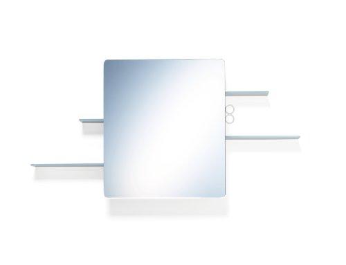 Authentics 1300078 Armoire Miroir Kali/113 x 58 x 18 cm/Blanc
