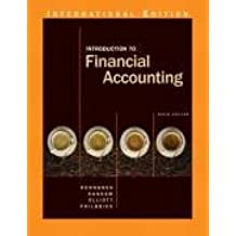 Introduction to Financial Accounting: International Edition