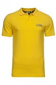 LOTTO Daniel BS tipo Polo para hombre camisa amarillo N0420