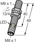 Turck Sensor Bi2-EG08-AP6X-V1131 induktiv Induktiver Näherungsschalter 4047101152135