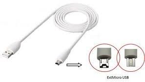 HTC DC T500 USB-Datenkabel/Ladekabel Tablet/Flyer/Jetstream/Amaze 4G / EVO View 4G / Rezound (12-polig), weiß (Htc Tmobile Handys)