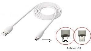 Sprint Nextel Cell (HTC DC T500 USB-Datenkabel/Ladekabel Tablet/Flyer/Jetstream/Amaze 4G / EVO View 4G / Rezound (12-polig), weiß)