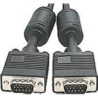 Valueline CABLE-177/10 10m VGA (D-Sub) Negro cable VGA - Cables VGA (10 m, VGA (D-Sub), Níquel, Negro, Macho/Macho, 0,800 kg)