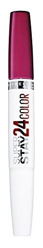 Maybelline Superstay 24H Lippenstift Nr. 542 Cherry Pie, farbintensiver, flüssiger Lippenstift mit...