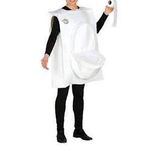 Guirca Costume da Gabinetto per Adulti, Taglia Unica 84525