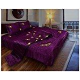 Hardev Enterprises Sanganeri Blue Cotton Printed Quilt ,Rajai,Razai(Single Bed Quilt )