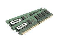 Crucial CL5 Mémoire RAM DDR2 2 Go (2 x 1 Go) PC2-5300 667 MHz