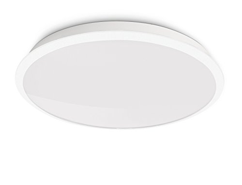 Plafoniera Led Philips : Philips  denim plafoniera led bianco