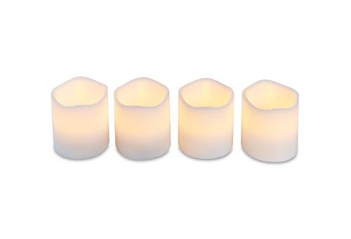 LED-Echtwachskerze Air Zuker