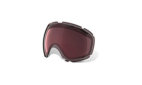 Oakley Canopy Goggle Replacement Lens Black Rose Iridium, One Size