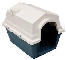 Freedog FD1000148 - Caseta exterior, para perro, color verde/blanco le