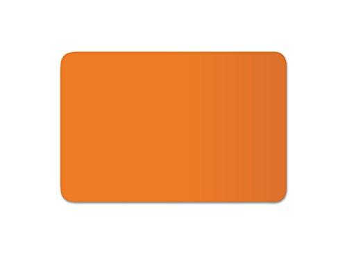 Anhänger Planen Reparatur Pflaster | in vielen Farben erhältlich | 30cm x 20cm | SELBSTKLEBEND | Speed Repair | RAL 2011 tieforange