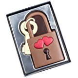 Candado del amor de chocolate