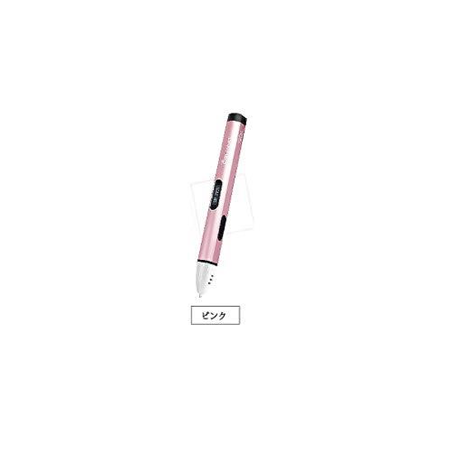 KERVINZHANG Wiederaufladbarer 3D-Druck Stift Erwachsene und Kinder gelten 3D Stifte PLA 4 Farbstift mit Filament Erwachsenen Kunst und Kunsthandwerk DIY (Color : Pink)