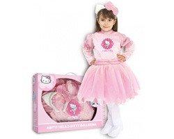 Costume carnevale hello kitty ballerina varie taglie