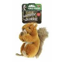 Sammy Squirrel Squeaky Dog Toy (Size: Large)