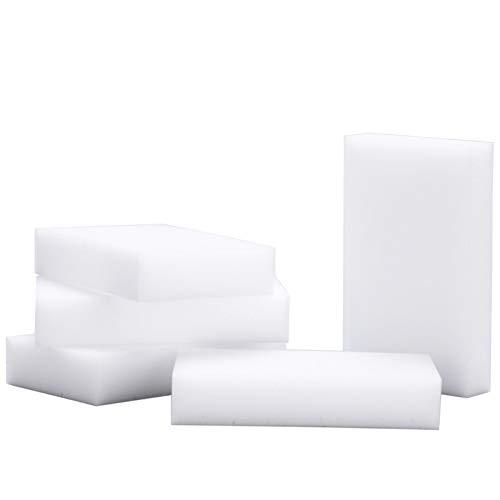 100 Stück Magic Sponge Nano Sponge Dirt Radiergummi No Cleaner Weiß 9 * 6 * 3cm