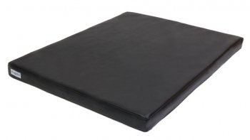 Orthopädische Hundematte Visko Style 50x70x7cm - Kunstleder schwarz