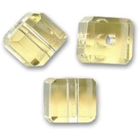 Cubi mm. 4 Light Topaz x15
