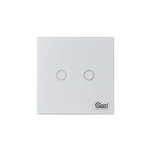 Z-Wave Interruptor luz 2 interruptores inteligentes