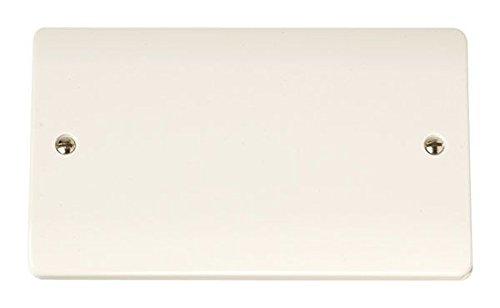 2-Gang Abdeckplatte x15 2 Gang Blank Plate