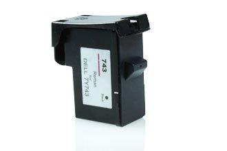 Akia–940–Kartusche kompatibel Dell 59210043/7Y743–Schwarz (Tintenpatrone 7y743)