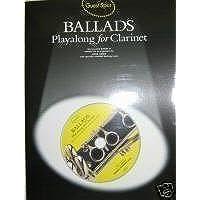 Baladas. Playalong para Clarinete. Incluye C.D