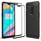 Wineecy OnePlus 6 Case with Screen Protector, Ultra Thin